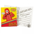 Yo Gabba Gabba Party Invitations 